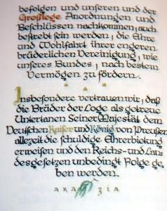 Stiftungsurkunde 4