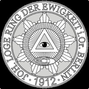 Siegel Johannes Loge Ring der Ewigkeit Berlin 1912